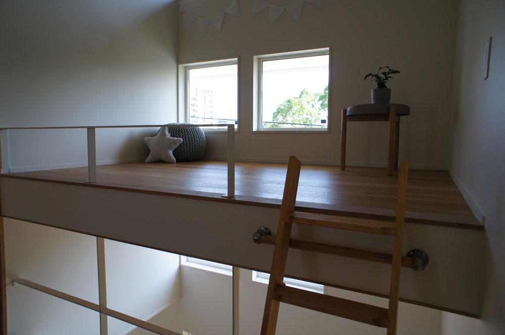省エネ住宅 神戸 オーブルホーム 新築 垂水区 ロフト デザイン