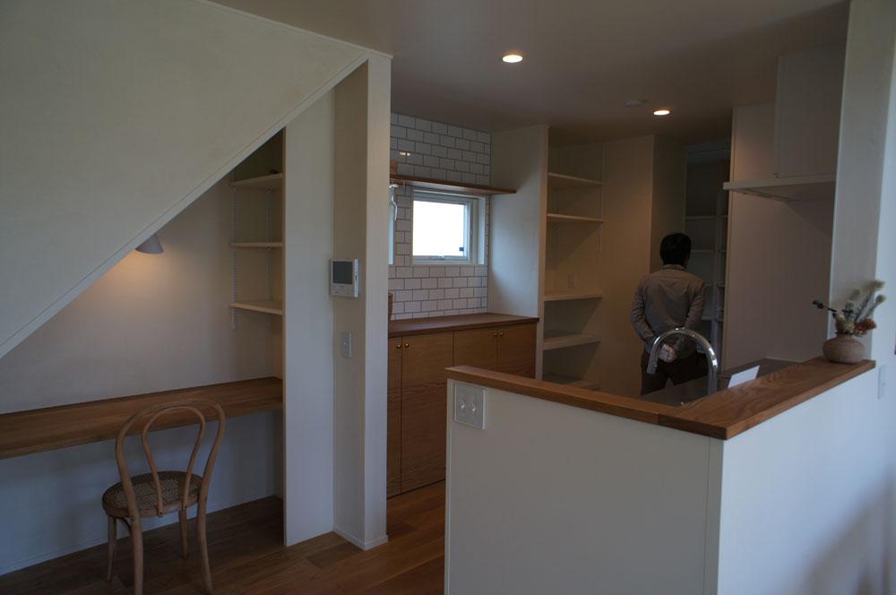 省エネ住宅 神戸 オーブルホーム 新築 垂水区 キッチン