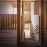 03:2階から階段ホール、キャットウオークの様子
