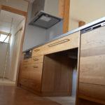 08:造作の木製キッチン、施主様だけのたった一つのオリジナルキッチン