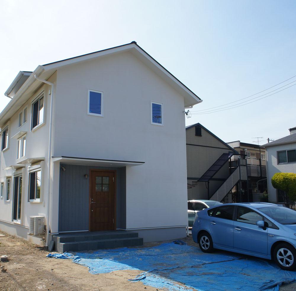 省エネ住宅 神戸市 オーブルホーム 新築 垂水区 外観