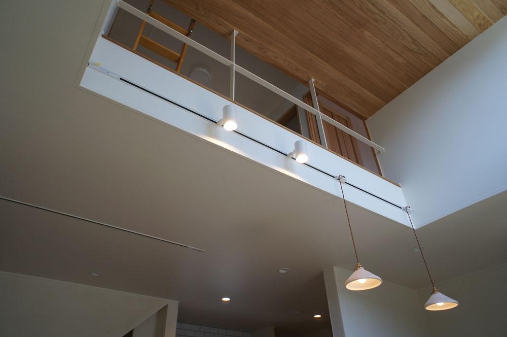 省エネ住宅 神戸 オーブルホーム 新築 垂水区 レール型照明