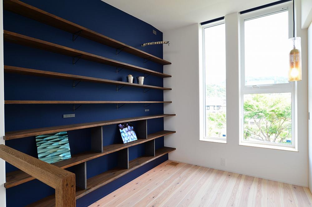 兵庫県 相生市 施工事例 ADHOUSE 本棚 オーダー家具