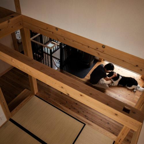 人も犬も心地いい家 心地いい空間