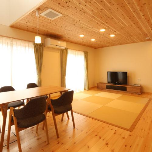 自然素材の快適3世代住宅
