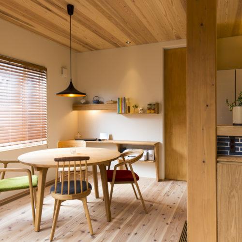 スキップフロアが生み出す贅沢空間の家 ダイニング