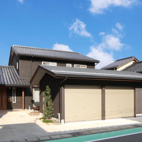 自然素材の快適3世代住宅 外観