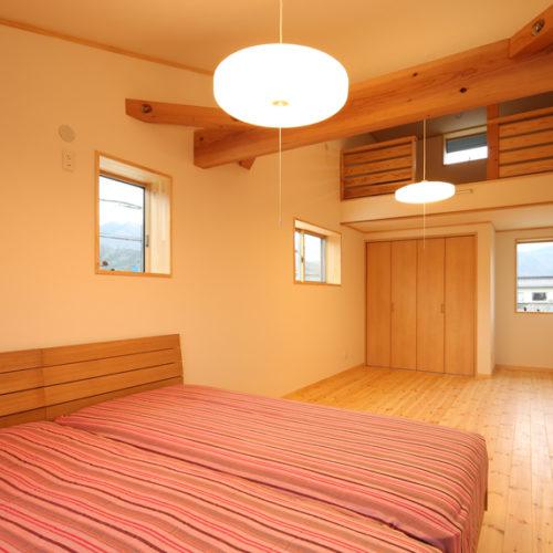 自然素材の家 子供部屋