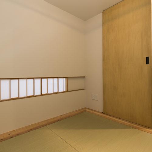 スキップフロアが生み出す贅沢空間の家 和室