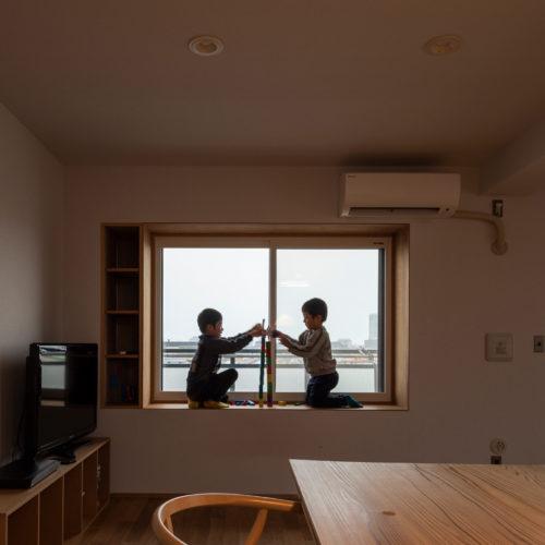 泉大津市東助松の家