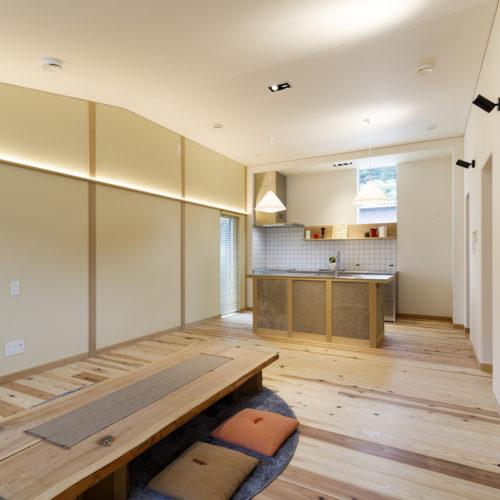 デザイン性と機能性が自慢のオリジナルキッチン