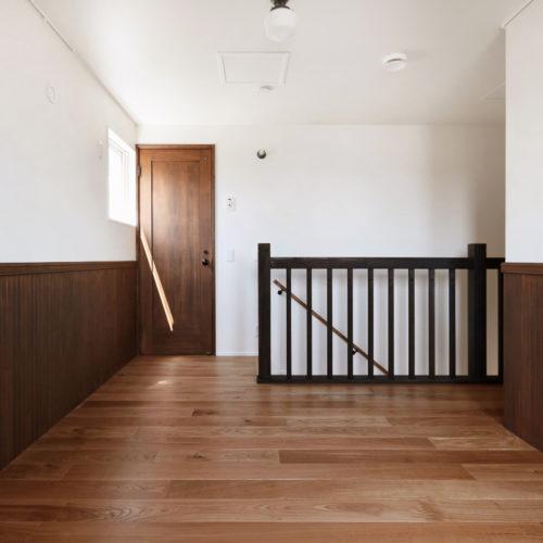 セカンドリビングとしても使用可能な2階ホール