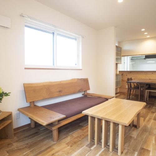額田の家「耐震断熱フルリノベーション」リビング