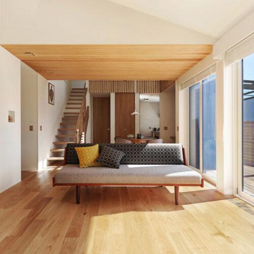 北欧デザインと暮らす家