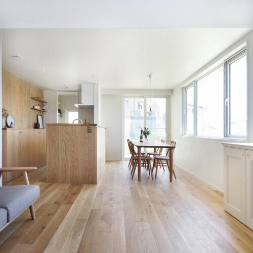 内外装共トータルでコーディネートさせて頂いた企画提案型住宅