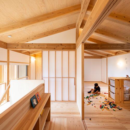 M様の木の家ー2階居室