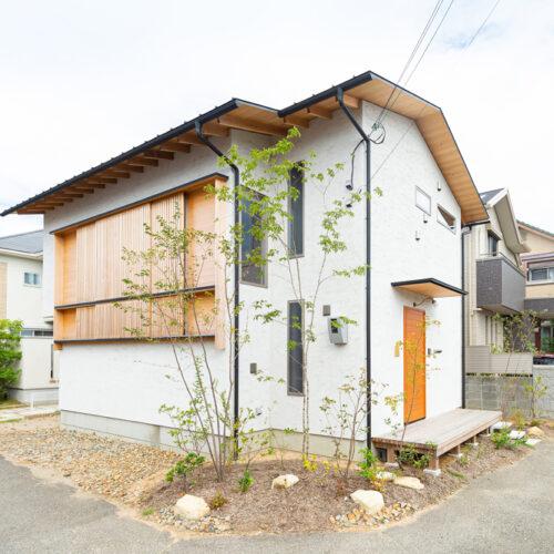 M様の木の家ー外観
