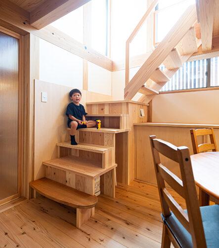 M様の木の家ー階段