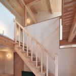 09開放的な木の階段です